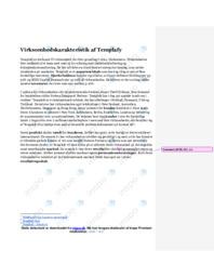 Virksomhedskarakteristik af Templafy   10 i karakter