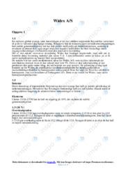 Widex AS   Økonomisk udvikling   10 i karakter