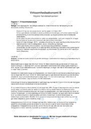 Stryhns AS | Virksomhedsanalyse | VØ noter