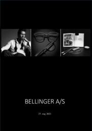 Bellinger AS   Afsætning Case   10 i Karakter