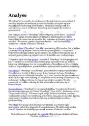 Ørneflugt   Analyse   Henrik Pontoppidan   12 i Karakter