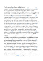 Pelikanen  | Analyse | Kasper Colling Nielsen | 10 i Karakter