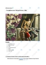 En Køkkenscene | Analyse | Michael Kvium | 10 i Karakter