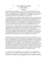 Patienten | Analyse | Cecilie McNair | 10 i Karakter