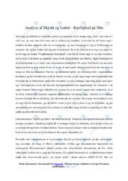 Skjold og Isabel |  Analyse | Emil Næsby Hansen