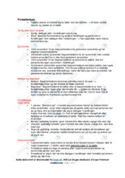 Fortællertype | Noter Analyse