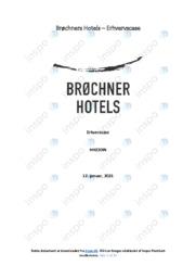 Brøchners Hotels   Afsætning   10 i Karakter