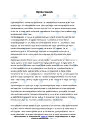 Optikerbranchen   Afsætning   10 i Karakter