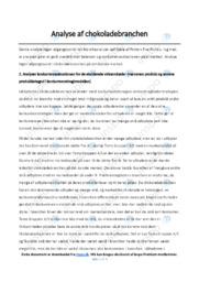 Toms Gruppen AS | Afsætning Case | 10 i Karakter