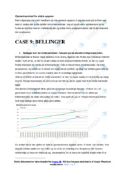 Bellinger | Afsætning Case | 12 i Karakter