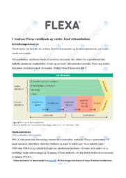 Flexa | Afsætning | 10 i Karakter