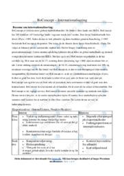 BoConcept   Noter Afsætning Case
