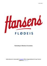 Hansens Flødeis | Noter Afsætning