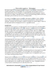 Omverdens Analyse | Noter Afsætning