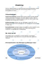 Virksomhedstyper | Noter Afsætning