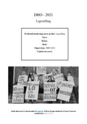 Ligestilling | DHO | 10 i Karakter