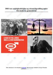 Seksuel ligestilling under Det moderne gennembrud | DHO
