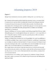 Afsætning årsprøve | Måltidskasser & convenience produkter