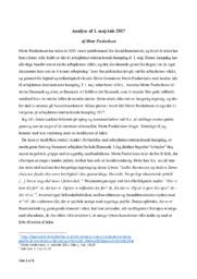 Analyse af 1. maj-tale 2017 | Mette Frederiksen