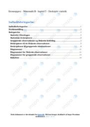 Statistiske deskriptorer | Emneopgave | 12 i karakter