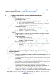 Hjernen & Hukommelse   Noter Psykologi