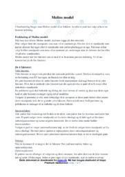 Molins model | Noter Samfundsfag
