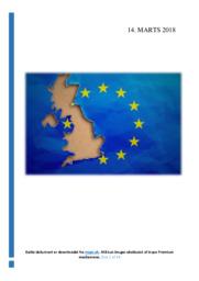 Storbritannien skal forlade EU | SRO | 12 i Karakter