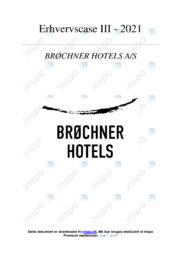 Brøchner Hotels AS   VØ   10 i Karakter