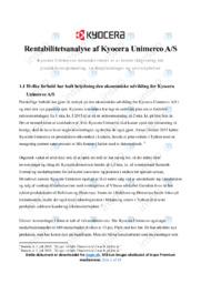Kyocera Unimerco AS   VØ   12 i Karakter