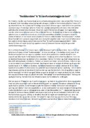 Bankskandalen & En samfundsødelæggende bank   Analyse