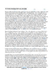 Det er ikke afgørende, at vi bringer nyheden først… | Analyse