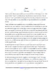 'Fingre' af Friða Isberg | Analyse | 10 i karakter