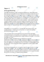 Debatindlæg | Analyse | Mads Kastrup | 10 i Karakter