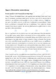Økonomiske sammenhænge   Samfundsfag   10 i karakter