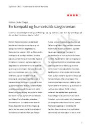 Hundehoved – af Morten Ramsland | Boganmeldelse