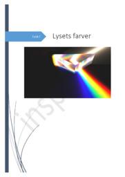 Rapport om bølgelængdeintervallet for lys fra Reuterlampe | Med rettelser fra læreren