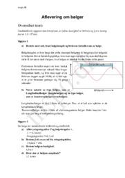 Bølger – Bølgelængde & frekvens  | Fysik Opgave