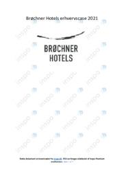 Brøchner Hotels erhvervscase   Noter Afsætning Case
