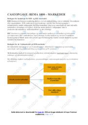 Rema 1000 | Afsætning Case | 10 i Karakter