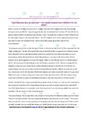 Brexit   Engelsk Essay   10 i Karakter