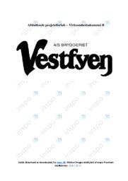 Vestfyn bryggeri | Virksomhedsøkonomi | 12 i Karakter