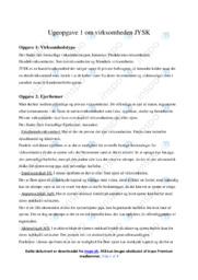 Jysk   Virksomhedsøkonomi   10 i Karakter