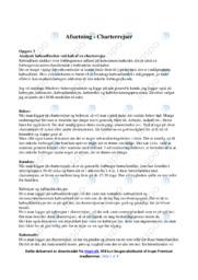 Charterrejser | Afsætning Case | 10 i Karakter