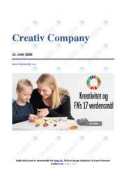 Creativ Company   Afsætning Case   10 i Karakter