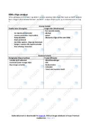 KiMs chips | Afsætning Case | 10 i Karakter