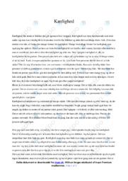 Kærlighed   Dansk Essay   10 i Karakter