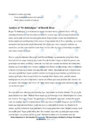 Et dukkehjem | Analyse | Henrik Ibsen | 12 i Karakter