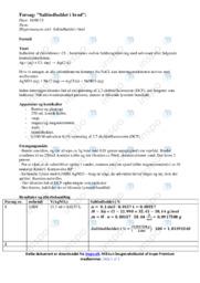 Saltindholdet i brød   Fysik Rapport   10 i Karakter