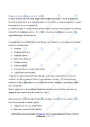 Organizational behaviour | Noter Virksomhedsøkonomi