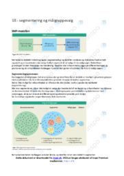 Segmentering og målgruppevalg | Noter Afsætning
